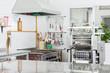 Pasta Machine In Commercial Kitchen