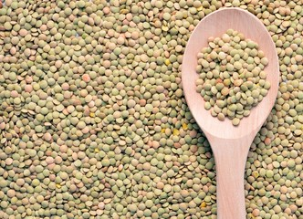 various types of legumes lentil beans Peas vegetable