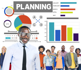 Diversity Design Team Planning Creative Leadership Concept