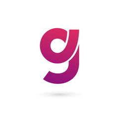 Letter G number 9 logo icon design template elements