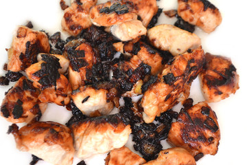 Fried chicken fillet.