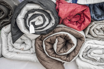 Rolled quilts