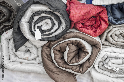 Rolled quilts - 78699512