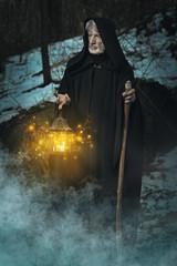 Hermit in the dark forest