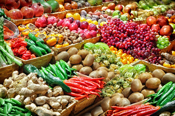 vegetables on marketplace