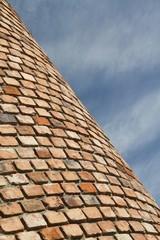 Brick wall and sky