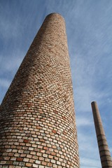 smoke stacks