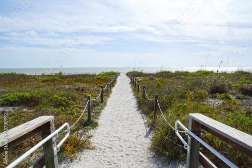 canvas print picture Spiaggia Florida