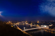 Parliament, Castle Hill and Royal Palace, Budapest panorama