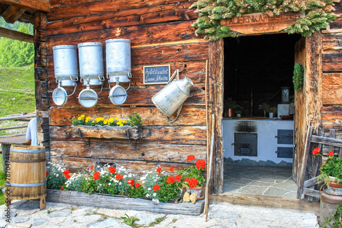 Foto op Canvas Alpen Tauernkarleitenalm