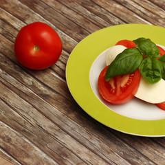 Tomaten - Mozarella - Basilikum