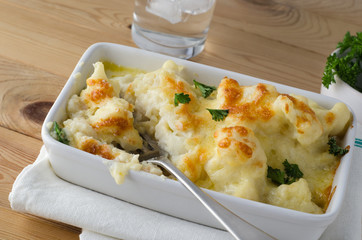 Cauliflower Cheese - Meal in Progress