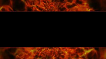Flames Door, with Alpha Channel, Loop