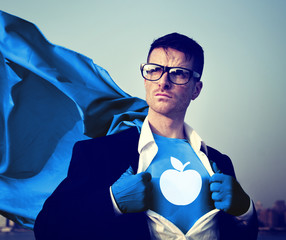 Education Strong Superhero Success Professional Empowerment