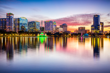 Orlando, Florida, USA Skyline