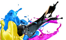 "Постер, картина, фотообои ""color splash"""