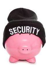 financial security piggy bank