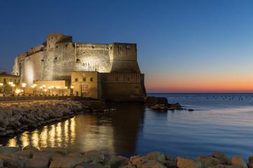 Castel dell' Ovo in Naples.