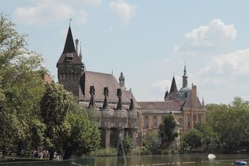Castle Vajdahunyad. Budapest, Hungary