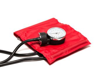 Blutdruckmessgerät, rot