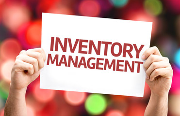 Inventory Management card with colorful background
