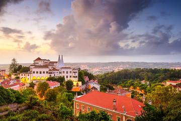 Sintra Portugal Town Skyline
