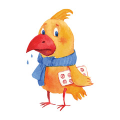 Sick bird