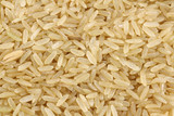 background of unpolished rice (whole grain) poster