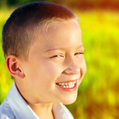 Cheerful Kid outdoor