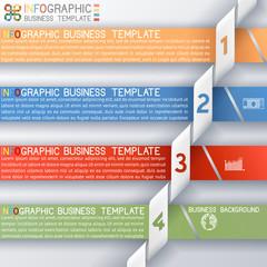 Busines Template four Steps
