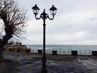 Prommenade Alghero Sardinien