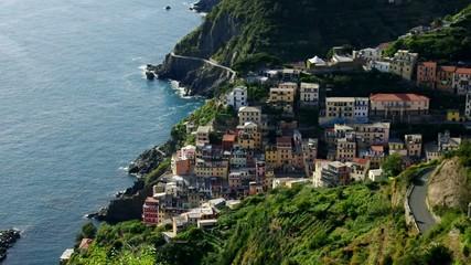 Cinque Terre Riomaggiore vid 02