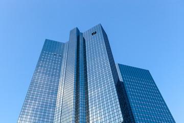 Modern skyscraper in business district