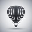 Vector hot air balloon icon - 78710307
