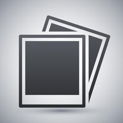 Vector photo cards icon
