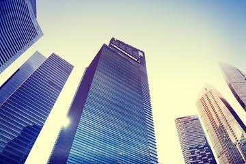 Contemporary Architecture Office Building Cityscape Personal
