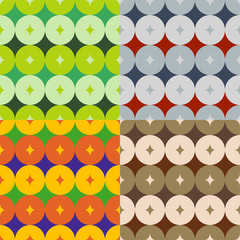 Set of abstract patterns