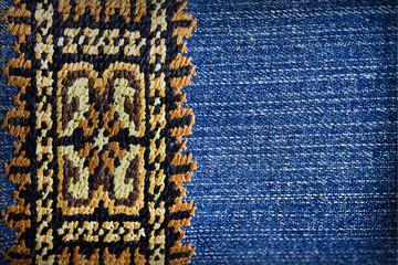 embroidery folk motifs