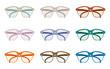 12 paia di occhiali