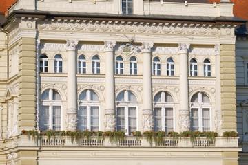 Novi Sad City Hall Facade, Serbia