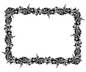 Square ornamental frame