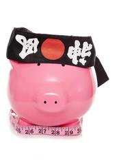 karate as fitness piggy bank
