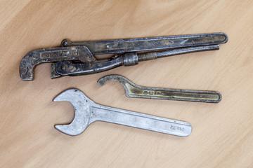 Vintage sanitary tools
