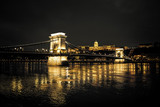 Szechenyi Chain Bridge and Royal Palace, Budapest - 78716713