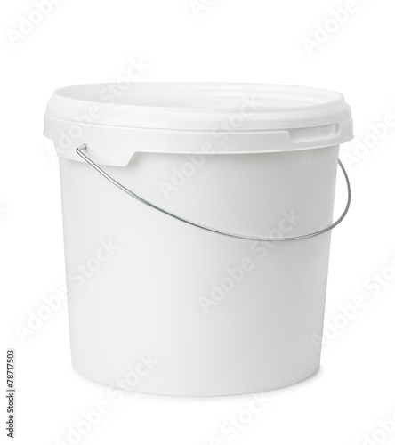 Leinwanddruck Bild Plastic bucket