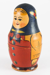 Ancient Russian Matryoshka (nested doll)