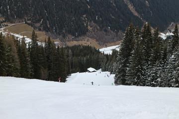Schneemangel Skigebiet
