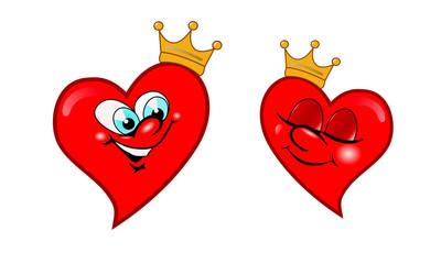 Влюбленные сердца