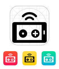 Phone remote controller icon.