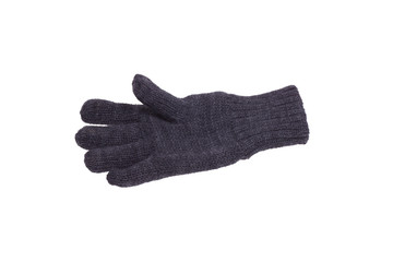 A knitted glove.